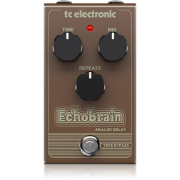 TC electronic ECHOBRAIN ANALOG DELAY Педаль эффектов